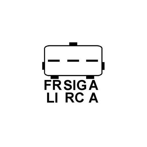 Lichtmaschine ersetzt FORD 1S7T10300DF / 1S7T10300DE / 1S7T10300DD