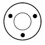 Solénoide pour démarreur Bosch 0001107408 / 0001113006 / 0001116005