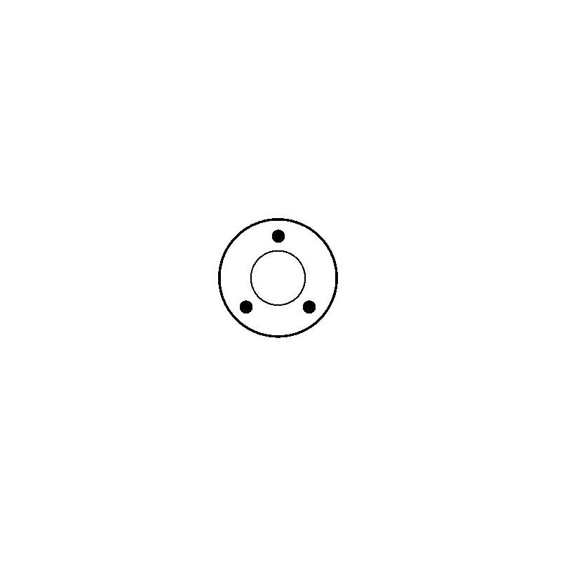 Magnetschalter für anlasser BOSCH 0001107102 / 0001108197 / 0001108205