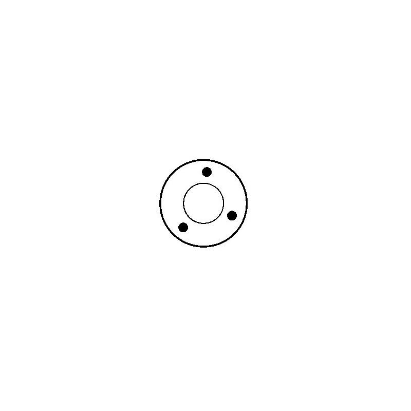 Contacteur / Solénoïde pour démarreur Ducellier 534029 / 534029A / 534031
