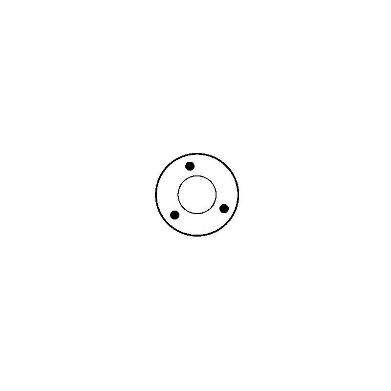 Solénoide pour démarreur valéo D6RA37 / D6RA50 / D6RA51