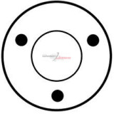 Solénoide pour démarreur Bosch 0001115012 / 0001115024 / 0001218140