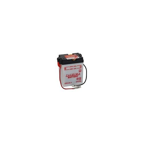 Batterie Moto 6N2-2A-4 6 volts 2 ampères