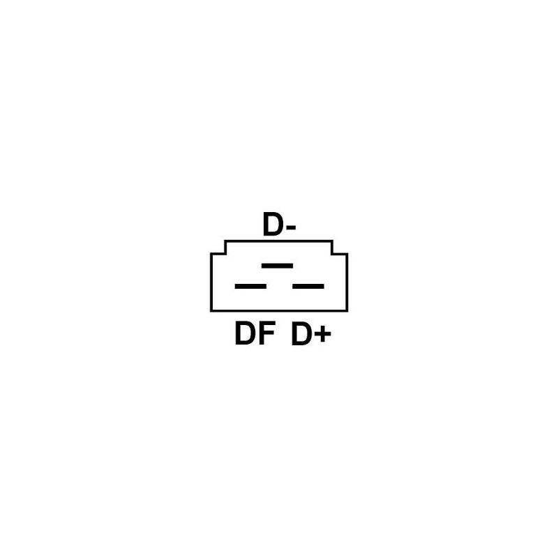 Regler für lichtmaschine BOSCH 0120300512 / 0120300514 / 0120300516