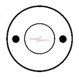 Solenoid for starter BOSCH 0001208049 / 0001208055 / 0001208206