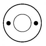 Contacteur / Solénoïde pour démarreur Bosch 0001208053 / 0001208054 / 0001311025