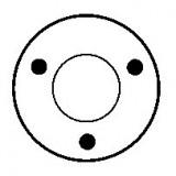 Magnetschalter für anlasser BOSCH 0001108004 / 0001108019 / 0001108020