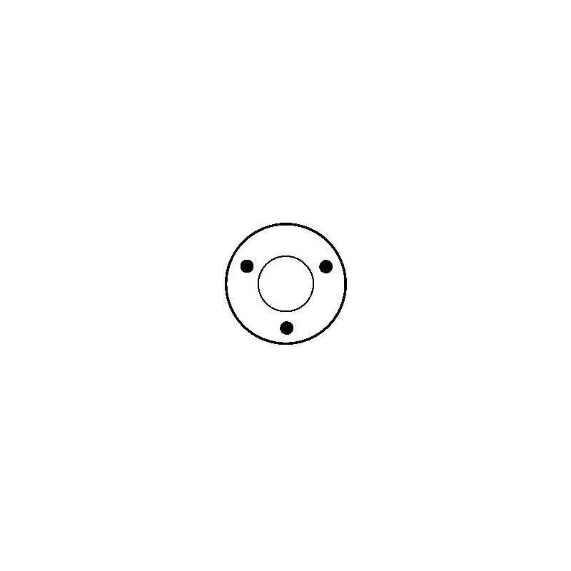 Contacteur / Solénoïde pour démarreur Bosch 0001362001 / 0001362002 / 0001362004