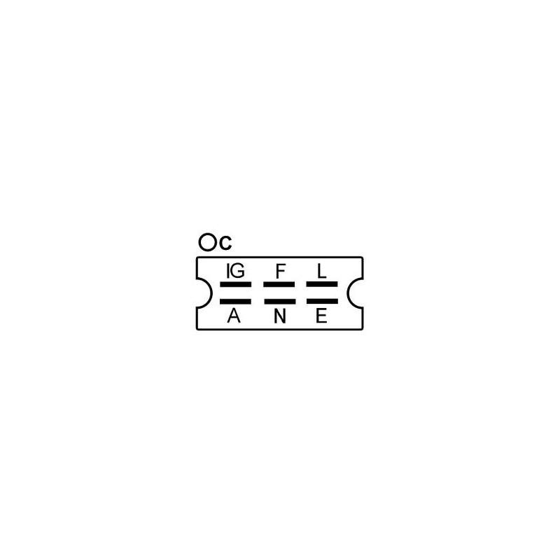 Régulateur remplace Denso 026000-2880 / 026000-2131 / 026000-1941