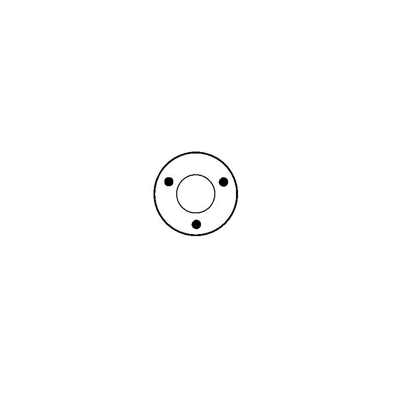 Contacteur / Solénoïde pour démarreur Bosch 0001208224 / 0001208225