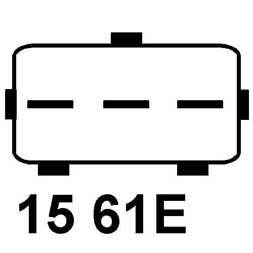 Alternateur remplace valéo SG15S030 / A14VI53 / A14VI52 / A14VI29
