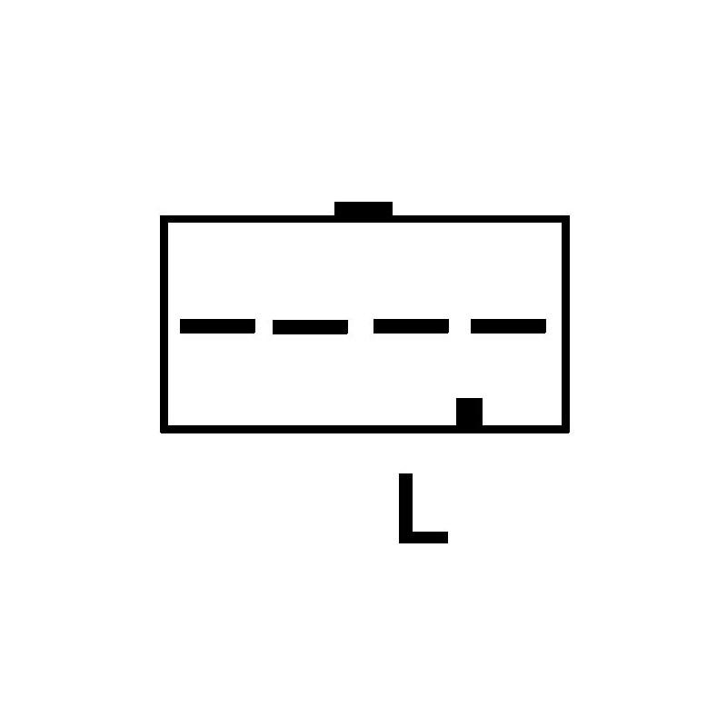 Regulator for alternator VALEO 2808490 / a13vi192 / a13vi193