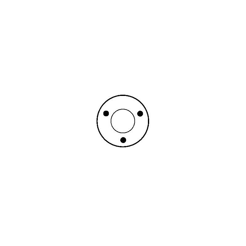 Solénoide / Contacteur pour démarreur valéo d6ra100 / D6RA42 / D6RA43