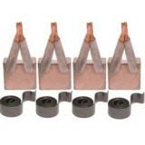 Brush set + springs for starter ISKRA AZJ3518 / AZJ3522