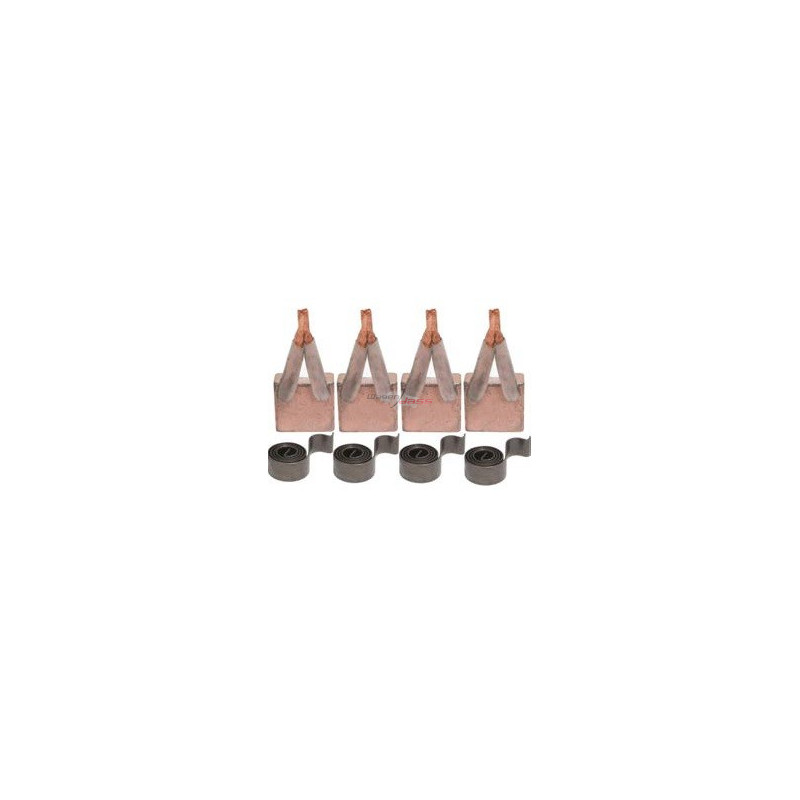 Kohlensatz + springs für anlasser ISKRA AZJ3518 / AZJ3522