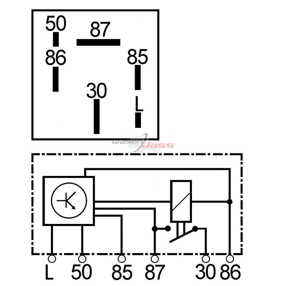 relais de pr u00e9chauffage remplace beru gr064    hella
