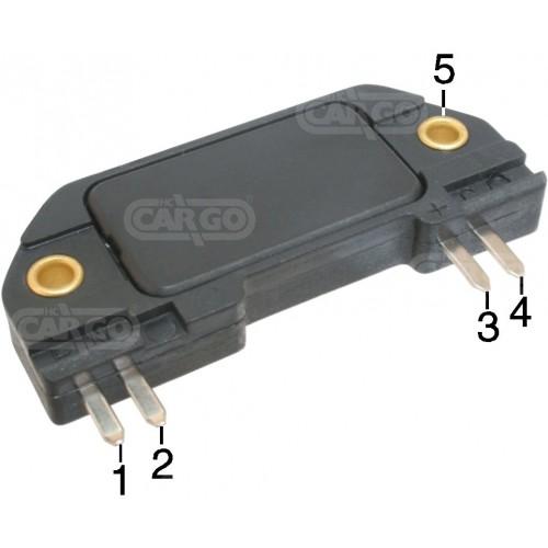 Ignition module replacing General Motors 10482823 / VALEO 245522