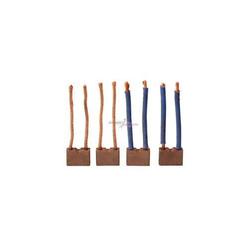 Brush set for starter Paris-Rhone D11E119 / D11E120 / D11E158 / D11E169