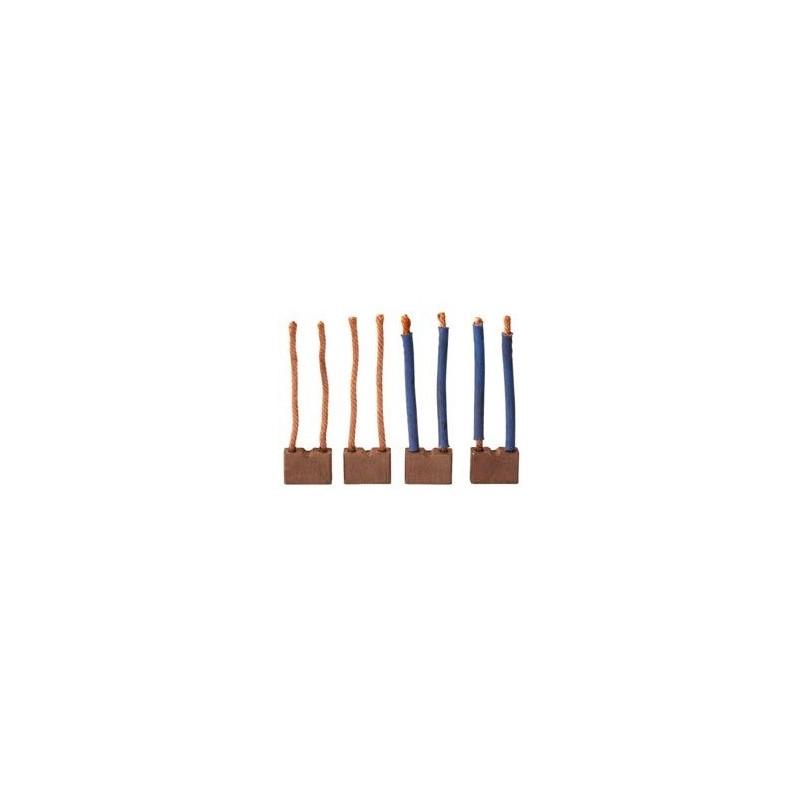 Brush set for starter Paris-Rhone D11E119 / D11E120 / D11E158 / D11E169
