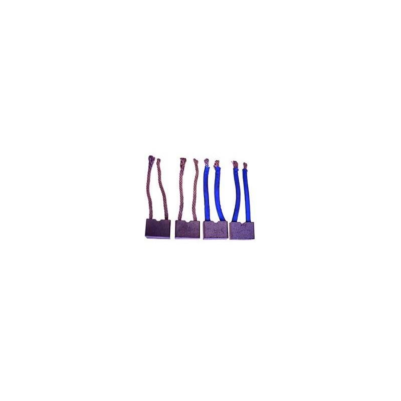 Brush set For VALEO starter / PARIS-RHONE D11E