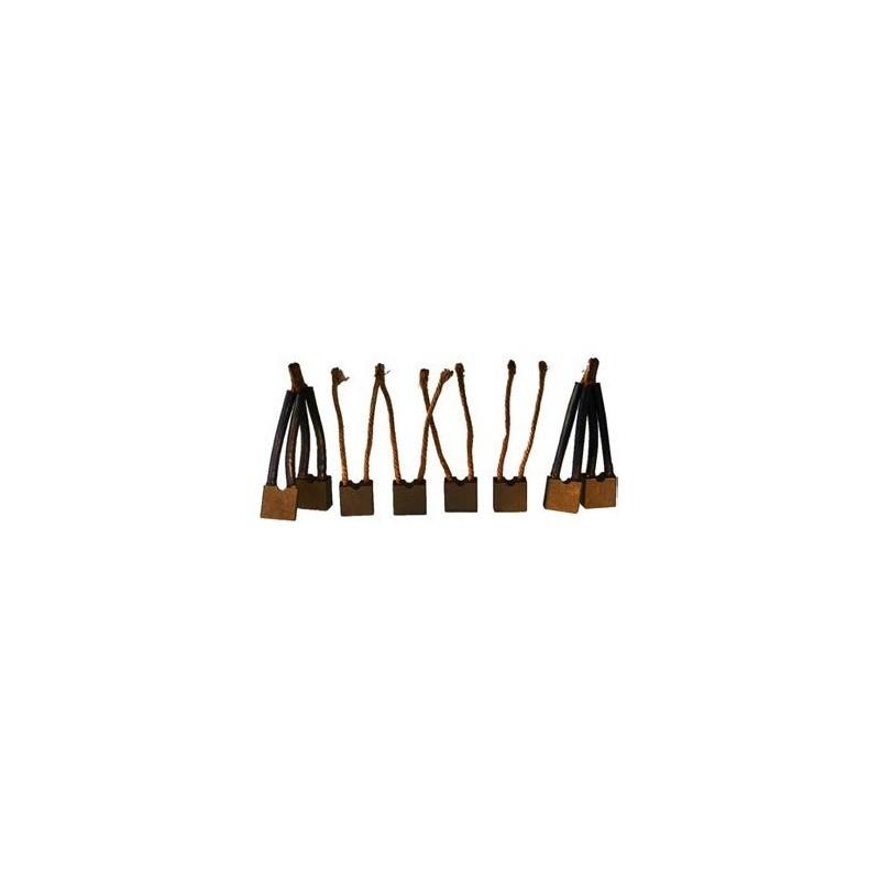 Brush set For VALEO starter / Paris-Rhone D13E