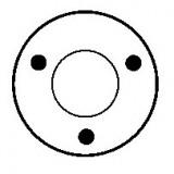 Solenoid for starter BOSCH 0001360012 / 0001360014 / 0001360016