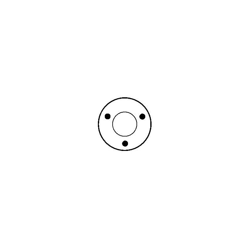 Contacteur / Solénoïde pour démarreur Bosch 0001360012 / 0001360014 / 0001360016