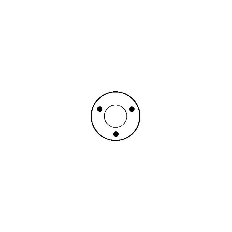 Solenoid for starter BOSCH 0001363111 / 0001364100 / 0001364101