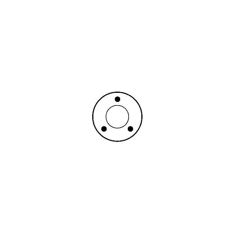Relais / Solénoide pour démarreur Bosch 0001107031 / 0001107032