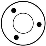 Relais / Solénoide pour démarreur Bosch 0001109033