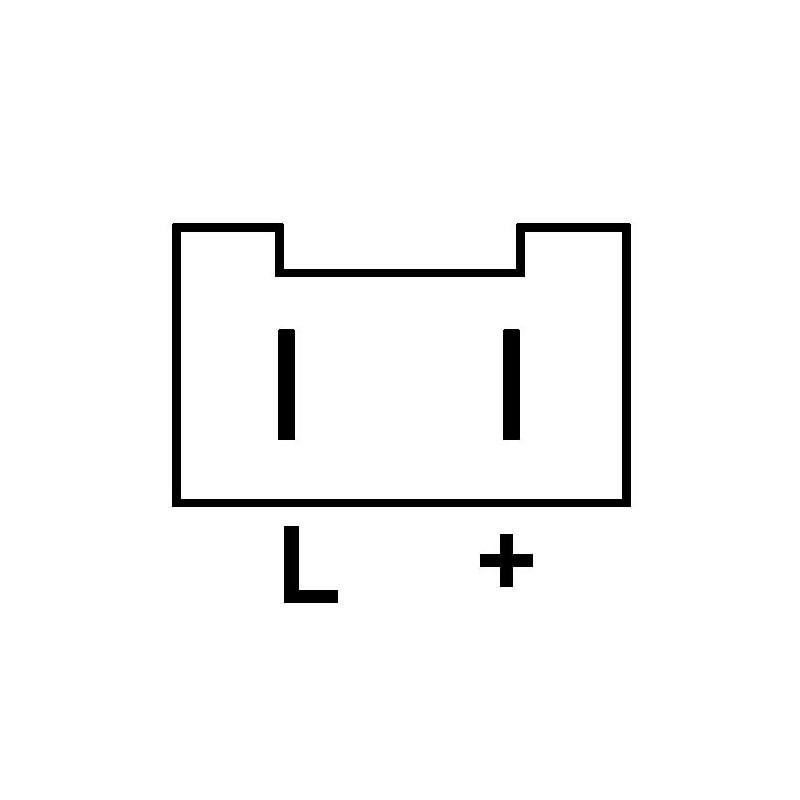 Regler für lichtmaschine VALEO 2541609 / 2541750 / 2541808