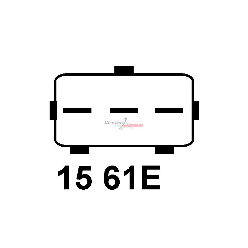 Régulateur pour alternateur valéo 2541884 / 2541912 / 2541961