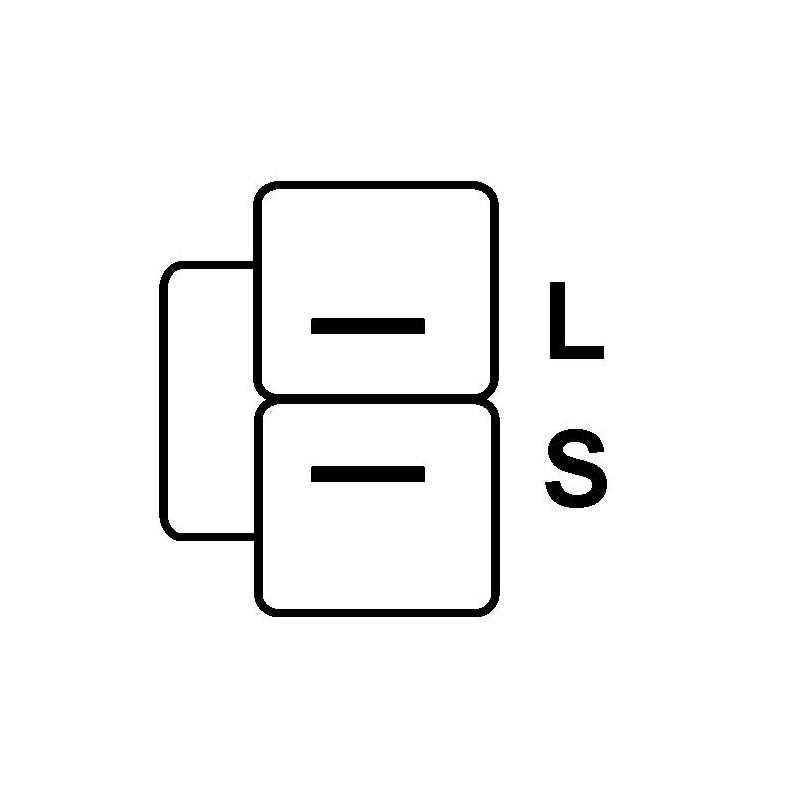 Régulateur pour alternateur valéo ab180128 / AB190147 / TA000A33001