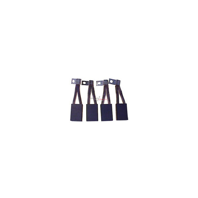 Brush set for starter BOSCH 0001401069 / 0001402018 / 0001402031