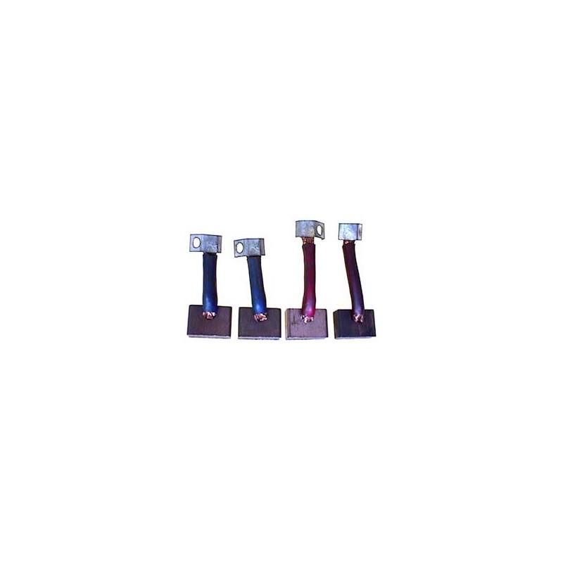 Brush set for starter BOSCH 001367001 / 0001367002 / 0001367003