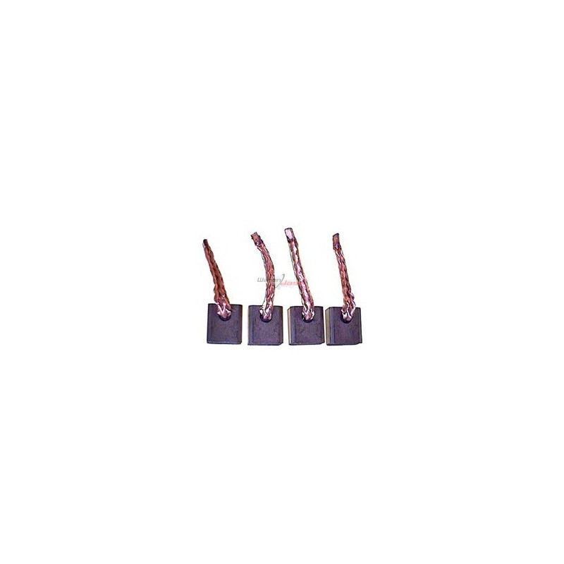 Brush set for starter BOSCH 0001362300 / 0001362301 / 0001362302
