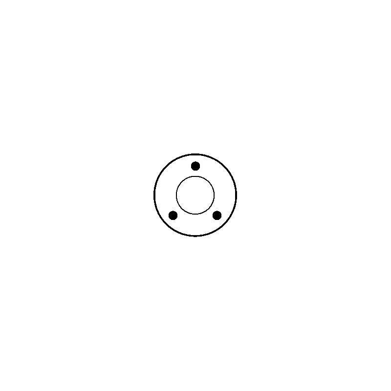 Solenoid for starter BOSCH 0001363111 / 9000143601 / 9000143602