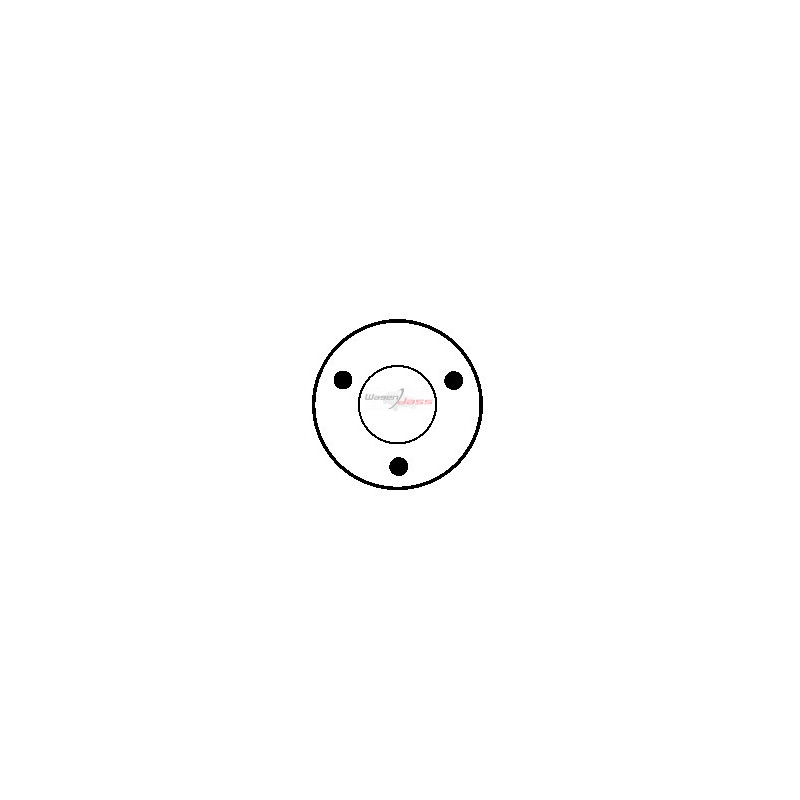 Contacteur / Solénoïde pour démarreur Bosch 0001109003 / 0001110017 / 0001110999