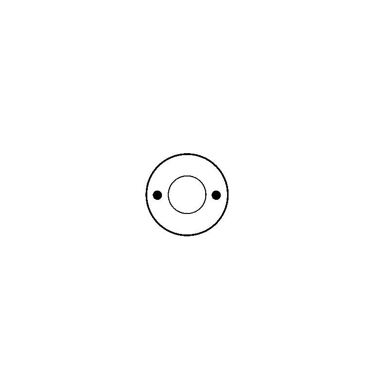 Contacteur / Solénoïde pour démarreur Bosch 0001208403 / 0001311050 / 0001311051