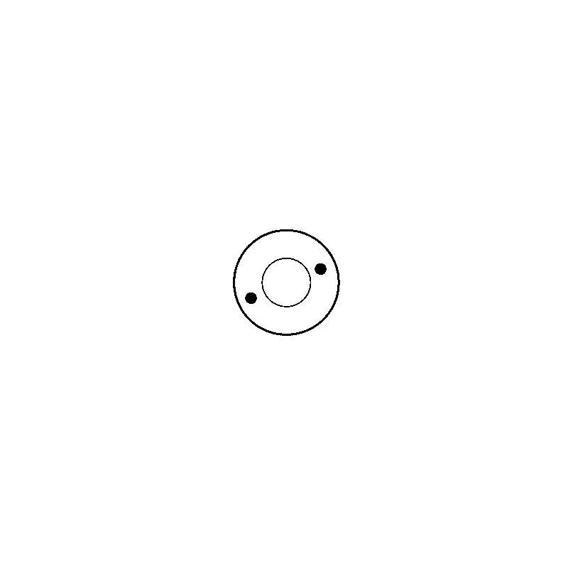 Contacteur / Solénoïde pour démarreur Bosch 0001208001 / 0001208003 / 0001208009