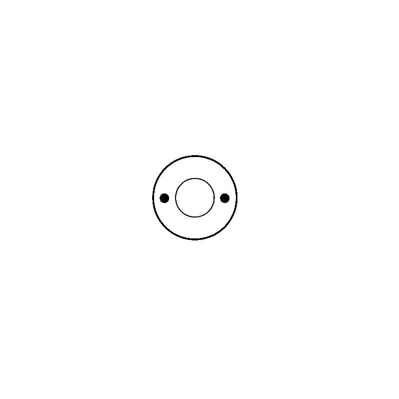 Contacteur / Solénoïde pour démarreur Bosch 0001208203 / 0001208205 / 0001208214