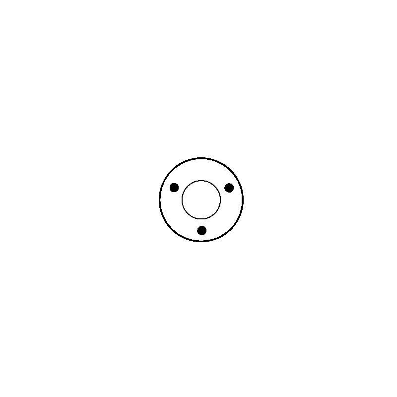 Contacteur / Solénoïde pour démarreur Bosch 0001112007 / 0001112032 / 9000333114