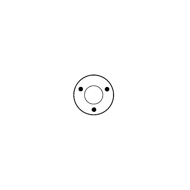 Contacteur / Solénoïde pour démarreur Bosch 0001107019 / 0001108085 / 0001108086