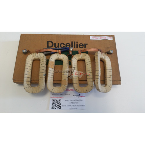 -'Field coil for starter Ducellier 6077A / 6077B / 6077C