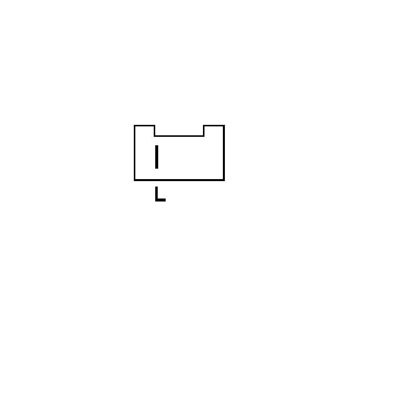 Régulateur pour alternateur Bosch 0120489157/ 0120489158/0120489163
