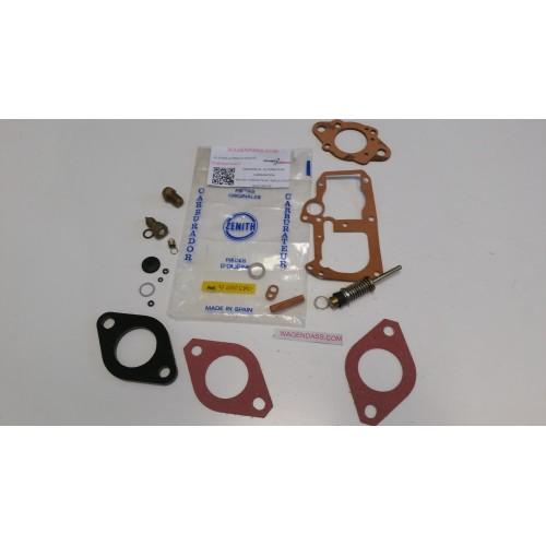 Pochette de joint zénith 4V10504 pour carburateur zenith sur Renault 12