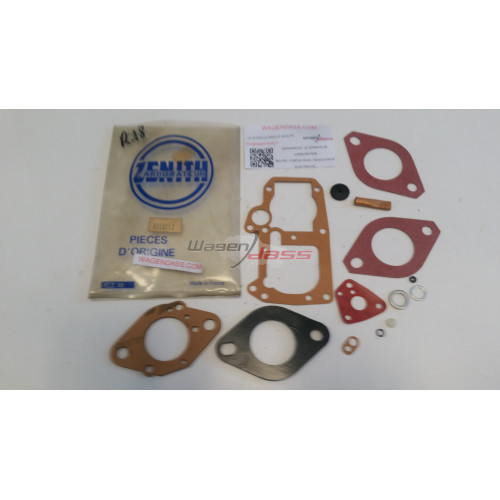 Service Kit Zénith 4V10712 for carburettor zenith on RENAULT 18