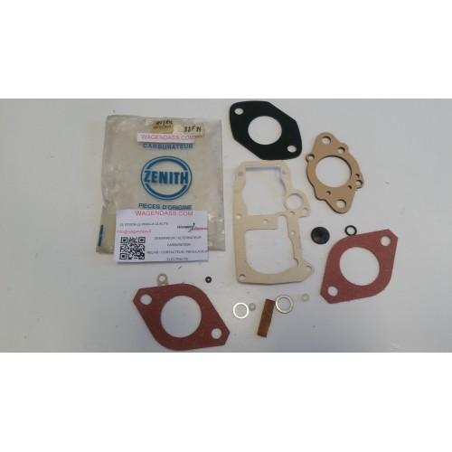 Pochette de joint zénith 4V10392 pour carburateur zenith sur Renault 6 et 12