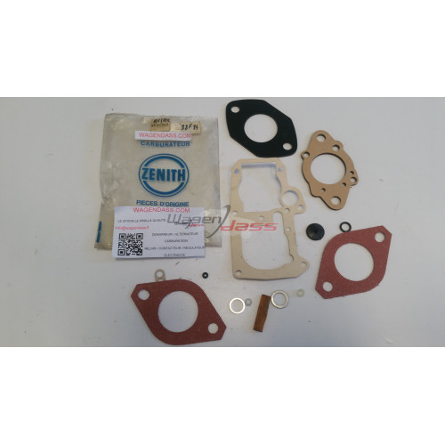 Service Kit Zénith 4V10392 for carburettor zenith on RENAULT 6 and 12
