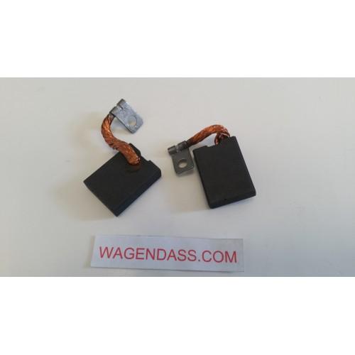 Kohlensatz / Kohlensatz für dynamo FIAT R 115.300/12.2000